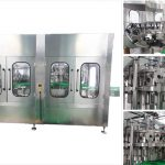 Automatisk ølvodka vinglassflaskefyllingsmaskin