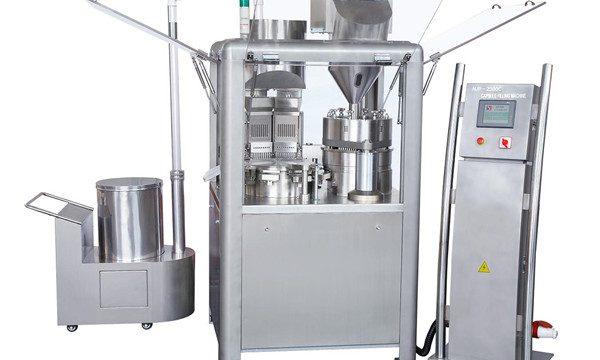 Automatisk kapselfyller Kapselfyllingsmaskin for å fylle pulver