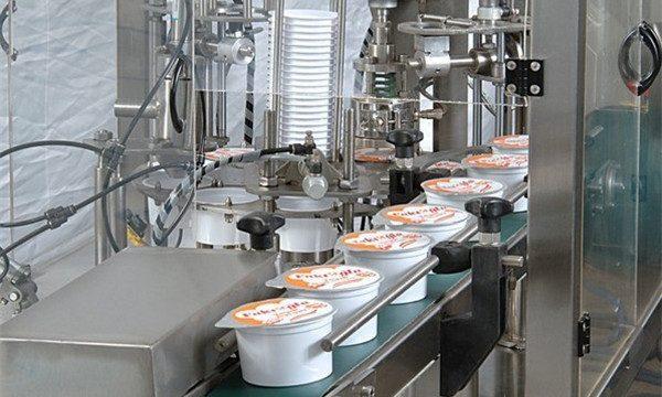 Automatisk iskremkoppfyllingsforseglingsmaskin