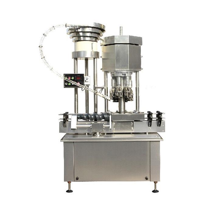 Automatisk multi-head ROPP Cap Capping Machine / Bottle Cap Tetting Machine