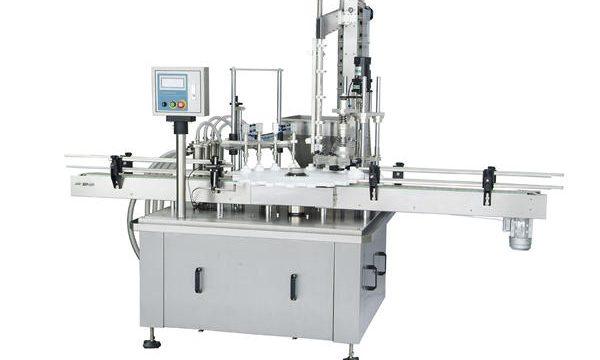 Automatisk fyllingsmaskin med roterende stempel
