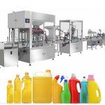 Gravity Bleach Filling Machine, Bleach Filling Produksjonslinje