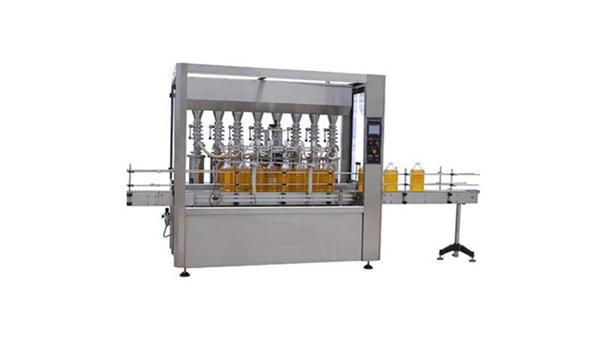 Helautomatisk smøremiddelolje 5L flaskefyllingsmaskin