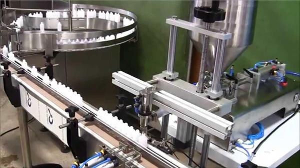 Kjemisk automatisk flaskepåfyllingsmaskin