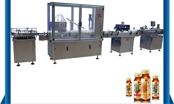 Kina leverandør automatisk honning flaske væske fylling maskin