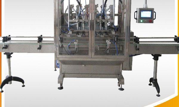 Automatisk olivenolje og krem- og flytende fyllmaskin