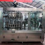 Automatisk rustfri stål flytende fyllemaskin for olje / renset vann