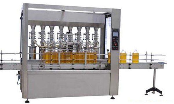 Automatisk smøre- / spiselig oljepåfyllingsmaskin med høy presisjon 2000ml-5000ml