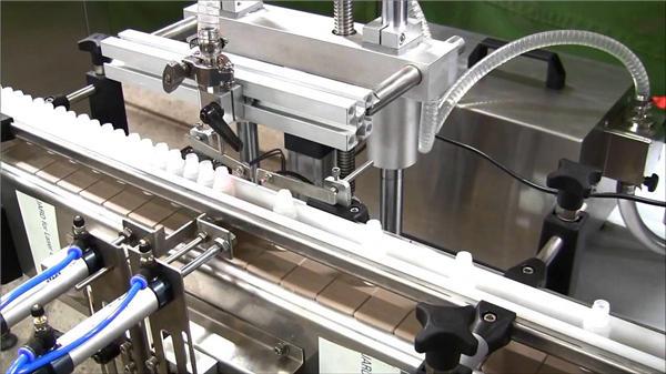 Høyhastighets automatisk e-væskeflaskefyllingsmaskin