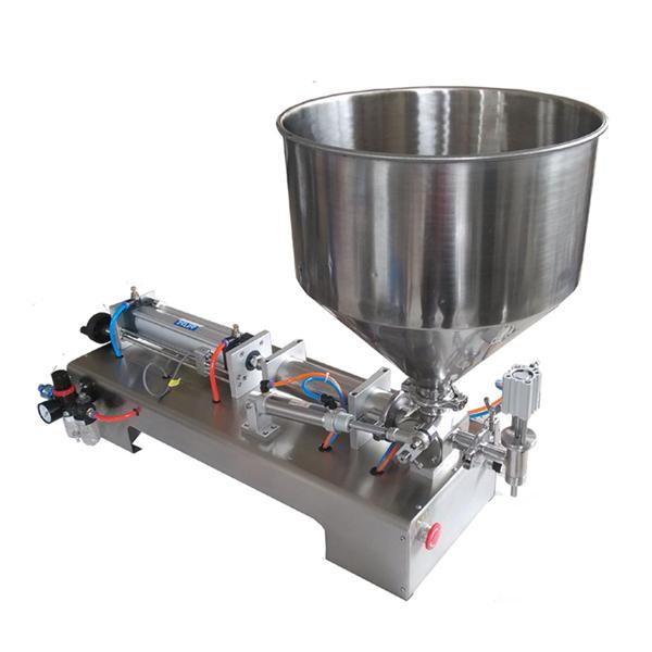 Semi-automatisk stempel Glass Jar Honning Fyllingsmaskin