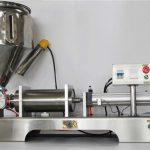 Halvautomatisk blandingsmaskin med blandet frukt syltetøy med høy nøyaktighet med CE GMP
