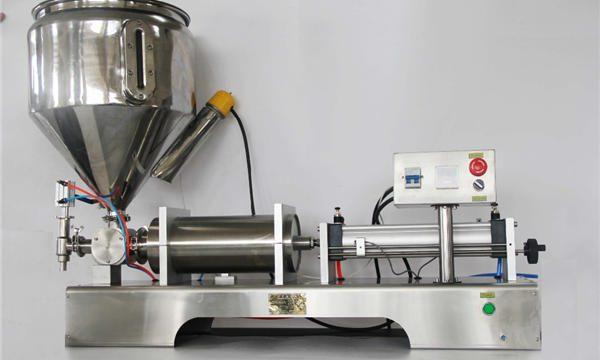 Pure Pneumatic Semi-Automatic Fruit Jam Fyllingsmaskin
