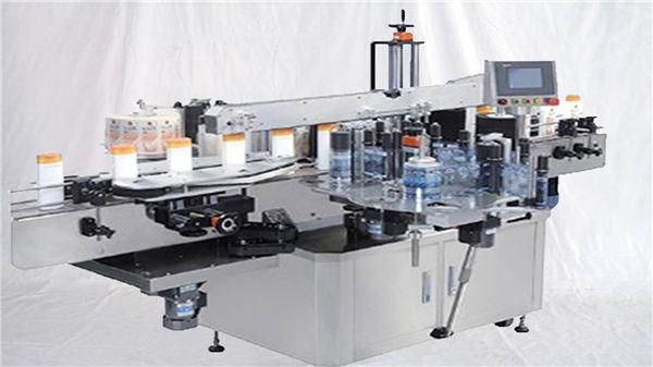 Glass parfyme flaske overflaten etikett maskin