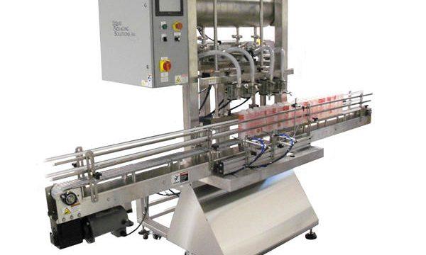 Automatisk fyllingsmaskin for flaskestempel