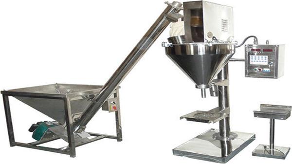 Full automatisk albumenpulver eller fyllingsmaskin med tørt pulver