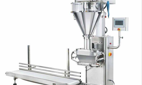 Halvautomatisk Mmilk Powder Filling Machine