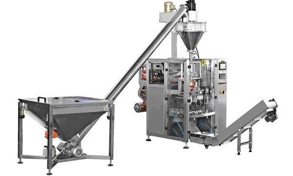 Automatisk flaske type spiral mating pulver fylling maskin