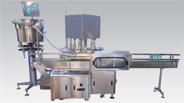 Rotary Cosmetic Fylling og Capping Machine