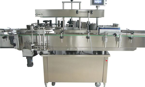 Full automatisk rund flaskeetiketteringsmaskin