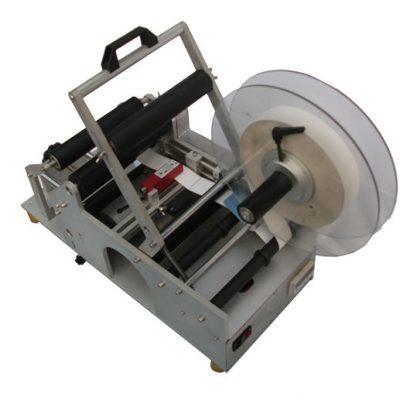 Fabrikkflasker halvautomatisk merkemaskin