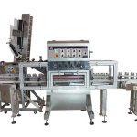 Pneumatisk pumpe automatisk varm saus fylling maskin