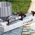Halvautomatisk vaskemiddel for flytende fylling