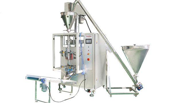 Vertikal automatisk pulverfyllings- og forseglingsmaskin