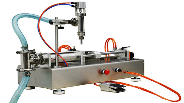 Double Heads Pneumatic Cream Filling Machine 100-1000ml