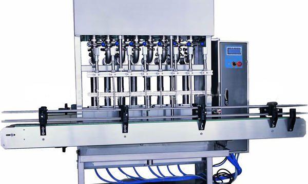 Rustfritt stål flytende såpe fylling maskin