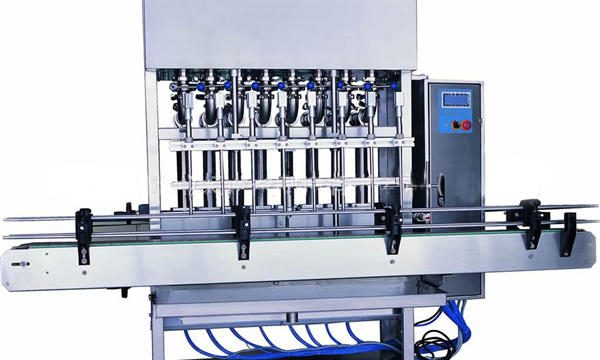 Automatisk vaskemaskin påfyllingsmaskin