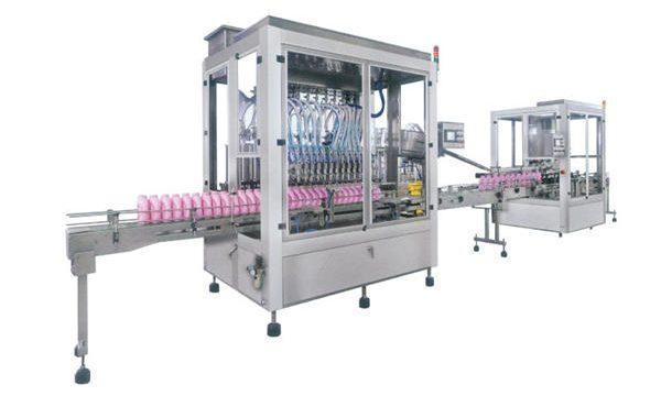 Full automatisk flytende såpe vaskemiddel fylle maskin