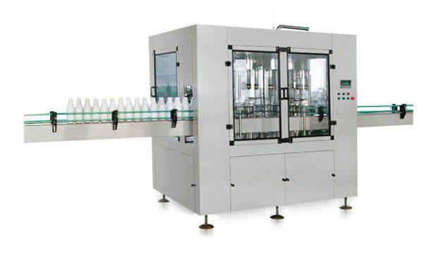 Åttehodet automatisk, lineær stempel flytende såpefyllingsmaskin