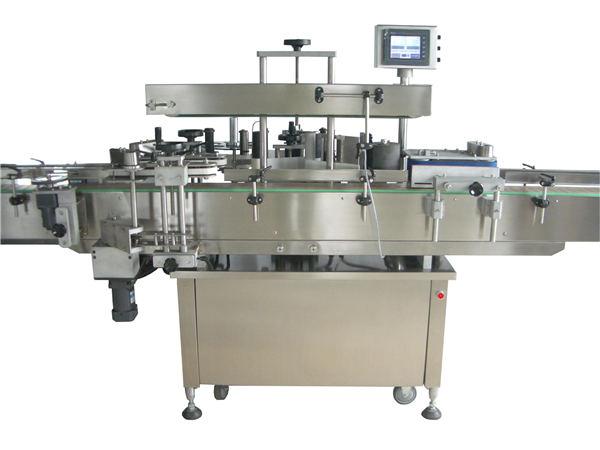 Full automatisk apoteketiketteringsmaskin for drikkeflasker