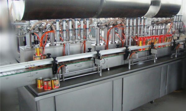 Dobbelthodet full-automatisk Chili Paste Fyllemaskin