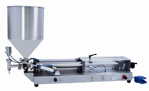 Halvautomatisk limfyllemaskin for 3mL-5L