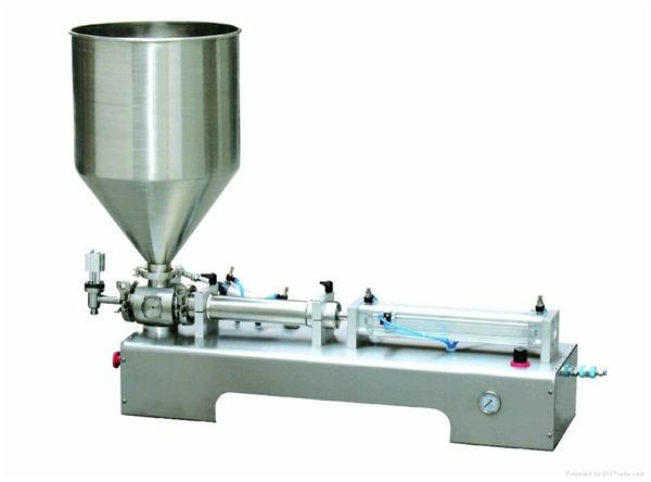 Halvautomatisk Calamine Lotion Paste / Liquid Bottle Fylling Machine