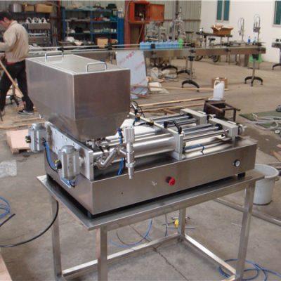 Den billigste pneumatiske halvautomatiske fyllmaskinen for syltetøy